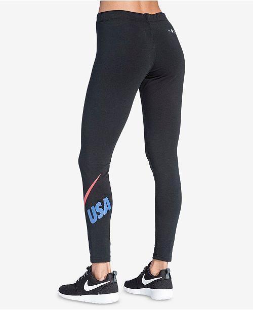 93a6b226ed8c9 Nike Sportswear Leg-A-See Logo Leggings - Pants & Capris - Women ...