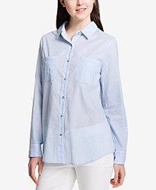 Calvin Klein Striped Cotton Shirt