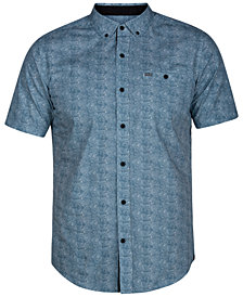 Hurley Men's Visionary Printed Pocket Shirt