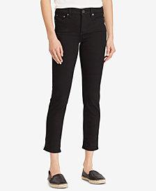 Lauren Ralph Lauren Petite Mid-Rise Jeans