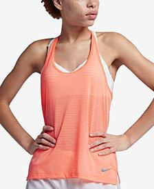 Nike Breathe Miler T-Back Running Tank Top