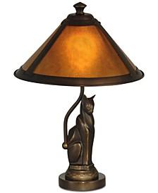 Ginger Mica Lamp