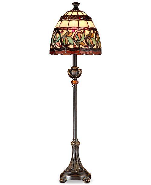 303e28823 Dale Tiffany Aldridge Buffet Lamp - Lighting   Lamps - Home - Macy s
