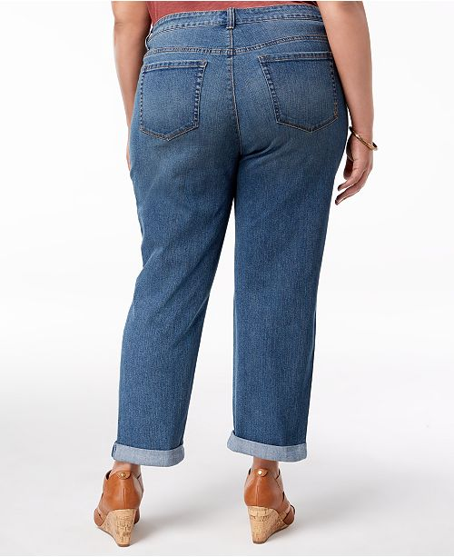 Camino Boyfriend Style Plus Co Fit amp; Created Size Macy's Jeans for gOvqO