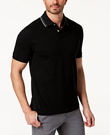 Tasso Elba Men's Supima® Cotton Pique Polo, Created for Macy's