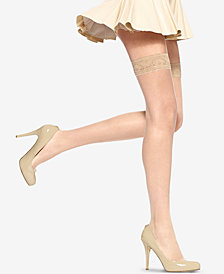 HUE® Women's  Lace Thigh High Hosiery