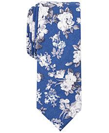 Original Penguin Men's Cilic Floral Skinny Tie