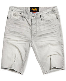 Superdry Men's Denim Biker Shorts