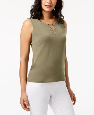 Embellished Tank Top, Created for Macy's