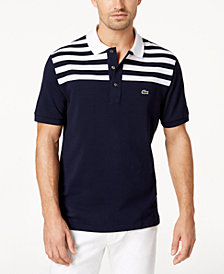 Lacoste Men's Striped Polo