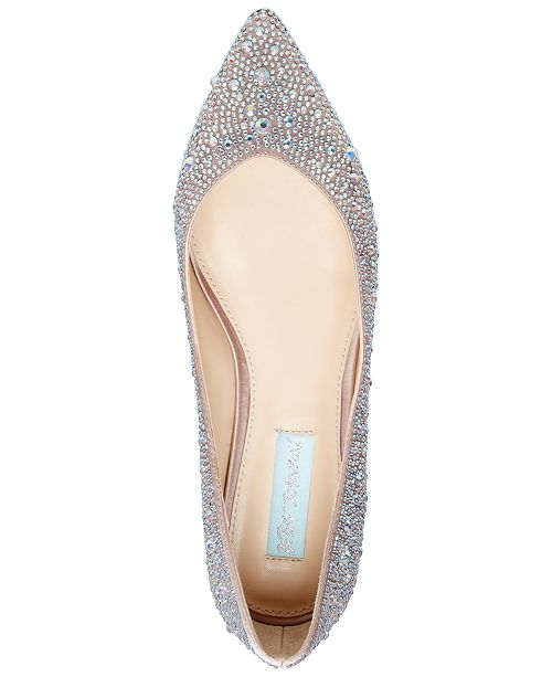 50e5f8b32 Blue by Betsey Johnson Jude Evening Flats   Reviews - Flats - Shoes ...