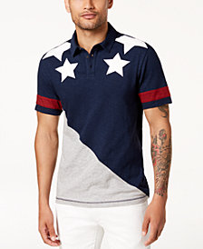 I.N.C. Men's Spangled Polo, Created for Macy's