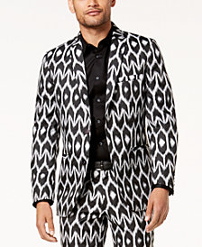 Mr. Turk X I.N.C. Men's Ikat Slim Blazer, Created For Macy's