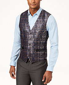 I.N.C. Men's Slim-Fit Party Jacquard Vest, Created for Macy's