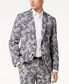I.N.C. Men's Slim-Fit Camo Jacquard Blazer, Created for Macy's