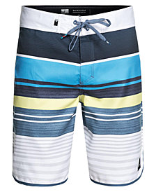 "Quiksilver Men's Eye Scallop Stripe 20"" Boardshorts"