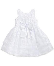 Sweet Heart Rose Toddler Girls 3D Floral Dress