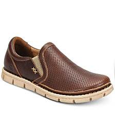 Born Men's Sawyer Perforated Double Gore Slip-On Loafers