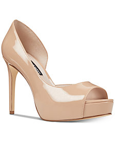 Nine West Expensive Platform D'Orsay Pumps