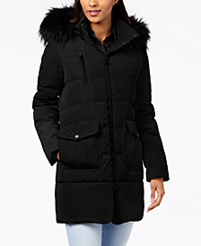 Marc New York Faux-Fur-Trim Parka