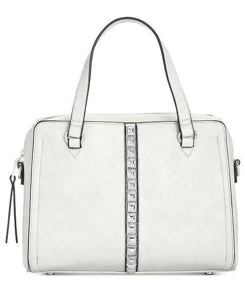 00faca77ff63 ... INC International Concepts I.N.C. Faany Pyramid-Studded Satchel,  Created for Macy's ...