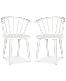 Eryn Spindle Side Chair (Set Of 2), Quick Ship