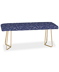 Deny Designs Caroline Okun Recumbent Bench