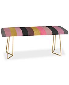 Deny Designs Elisabeth Fredriksson Soft Pink Bench