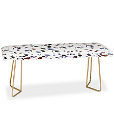 Deny Designs Emanuela Carratoni Autumnal Terrazzo Bench