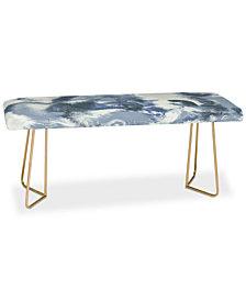 Deny Designs Jacqueline Maldonado Mist Blue Bench