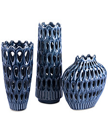 Zuo Alate Blue Vase Collection