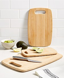 Martha Stewart Collection Cutting Boards, Set of 3, Created for Macy's