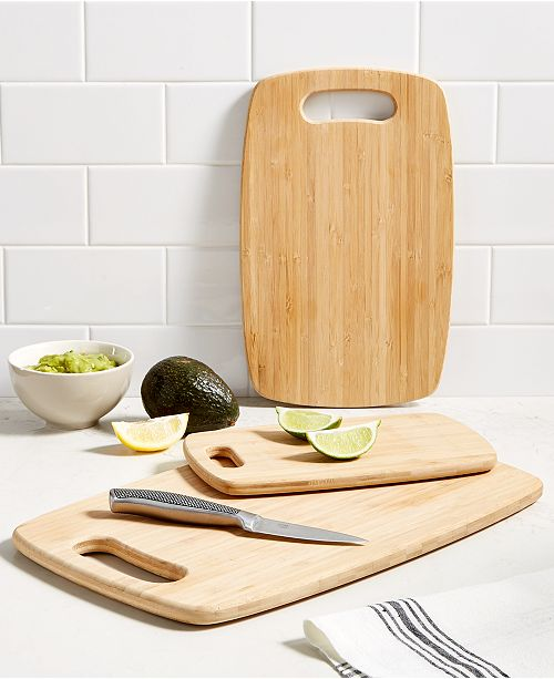 Cutting Boards, Set of 3, Created for Macy\'s