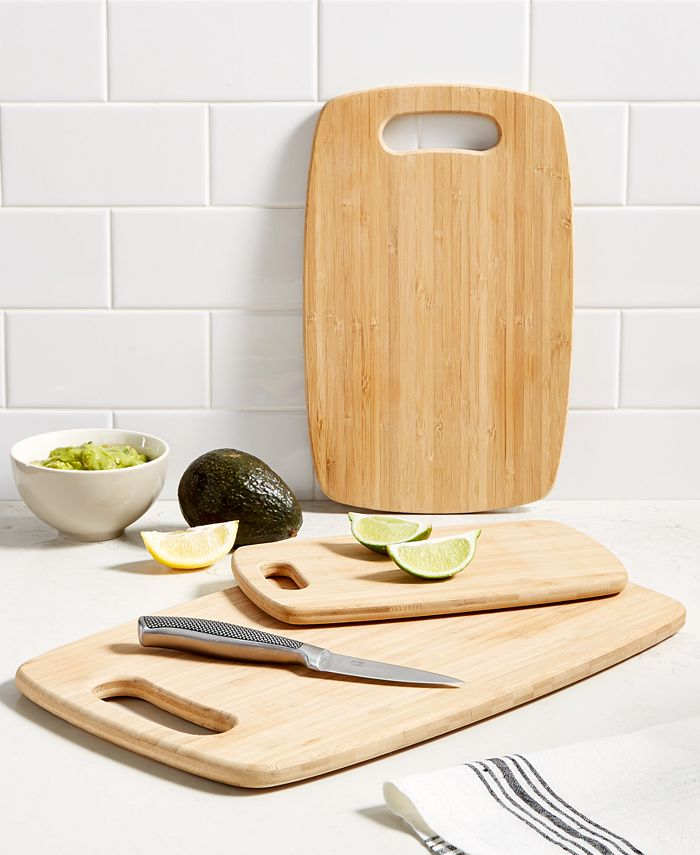 Martha Stewart Collection - Cutting Boards, Bamboo Set of 3