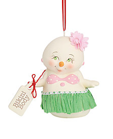 Department 56 Snowpinions Bikini Body Ornament