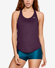 Under Armour HeatGear Mesh Racerback Tank Top