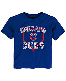 Outerstuff Chicago Cubs Fan Base T-Shirt, Toddler Boys (2T-4T)