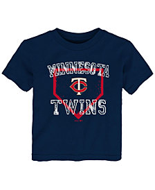 Outerstuff Minnesota Twins Fan Base T-Shirt, Toddler Boys (2T-4T)