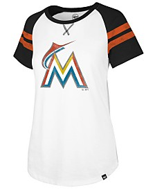 '47 Brand Women's Miami Marlins Flyout T-Shirt