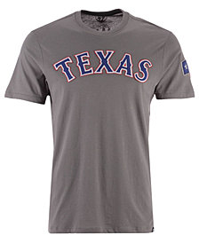 '47 Brand Men's Texas Rangers Fieldhouse Basic T-Shirt