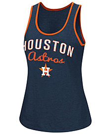 G-III Sports Women's Houston Astros Power Punch Glitter Tank