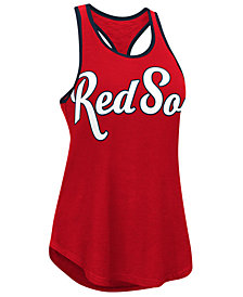 G-III Sports Women's Boston Red Sox Oversize Logo Tank
