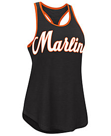 G-III Sports Women's Miami Marlins Oversize Logo Tank