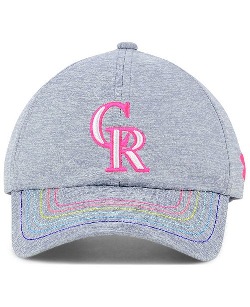 timeless design 0410e df3e8 ... ireland under armour girls colorado rockies renegade twist cap sports  fan shop by lids men macys