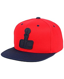 Mitchell & Ness Washington Wizards Rubber Weld Snapback Cap