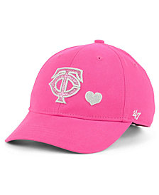 '47 Brand Girls' Minnesota Twins Sugar Sweet MVP Cap