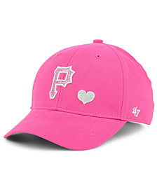 '47 Brand Girls' Pittsburgh Pirates Sugar Sweet MVP Cap