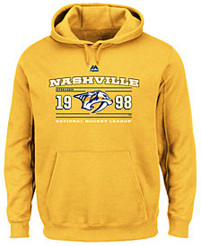 Majestic Men's Nashville Predators Winning Boost Hoodie