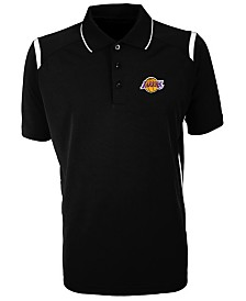 Antigua Men's Los Angeles Lakers Merit Polo Shirt