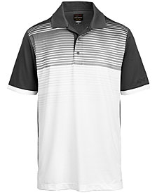 Greg Norman for Tasso Elba Men's Ombré Stripe Performance Polo, Created for Macy's